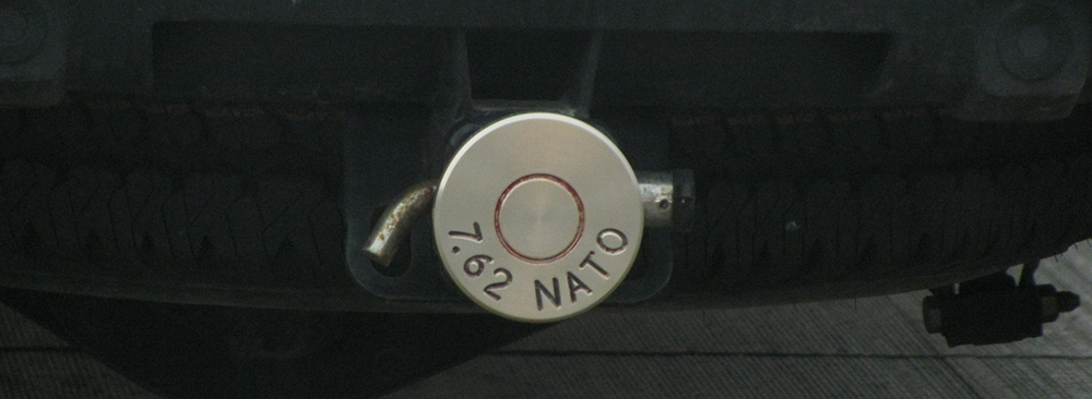 Trailer hitch cover in Daytona Beach, FL